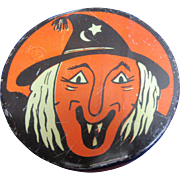 Vintage Kirchof Witch Noisemaker