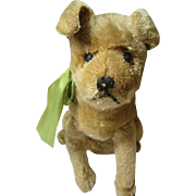 Adorable Antique Stuffed Dog-Boxer