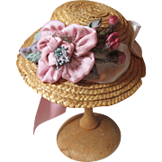 Heavenly Vintage Doll Hat