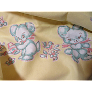 Vintage Mint Unused Baby Blanket