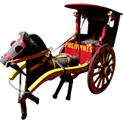 Wonderful Antique Cart & Horse