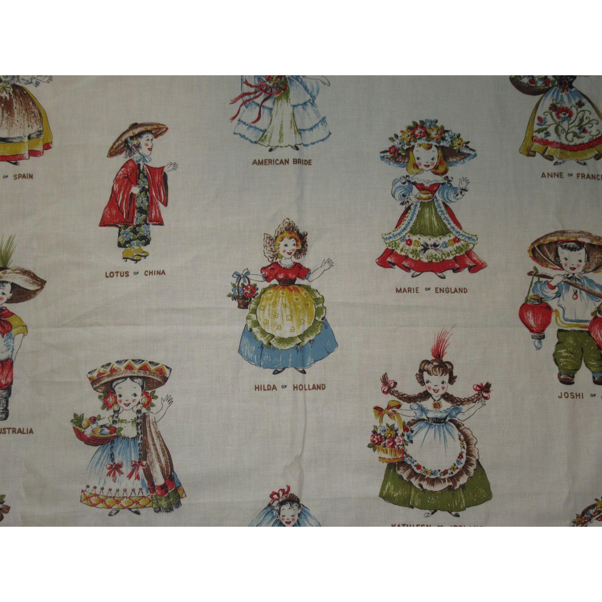 Vintage Fabric Doll 39