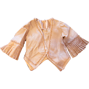 Antique French Silk Faille Doll Jacket