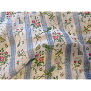 Delightful Vintage Cotton Voile Fabric