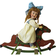 Delightful Antique Rocking Horse