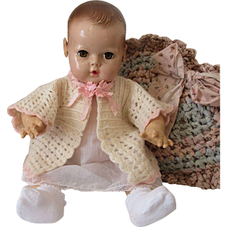 Precious Crochet Sweater Perfect For Dy Dee Baby & Friends