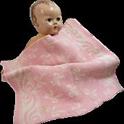 Vintage Esmond Doll Blanket