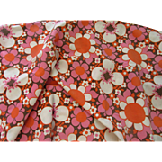 Grooovy Flower Power Fabric