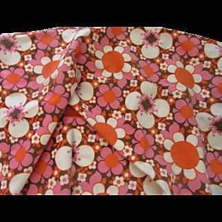 Grooovy Flower Power Fabric