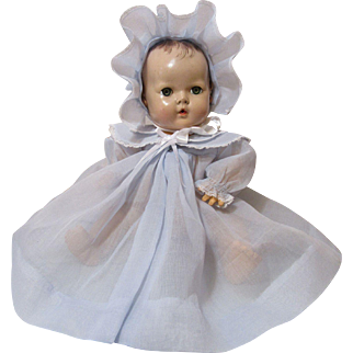 Heavenly Dy Dee Baby Organdy Coat & Bonnet