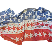 Rare Old Fourth Of July Flag Bunting