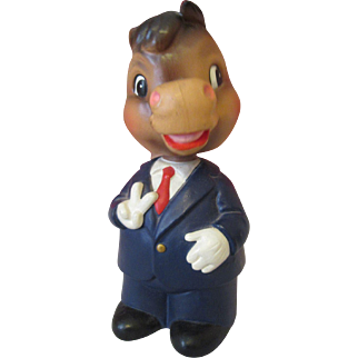 Mr. Cool Democrat Donkey Bobble Head