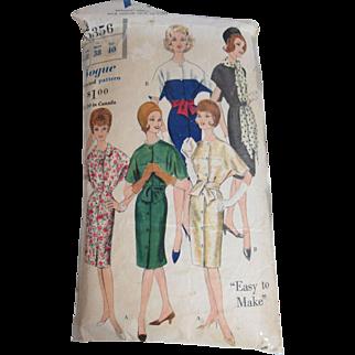 Glamorous Vintage Vogue Dress Pattern