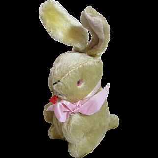 Vintage Plush Easter Bunny