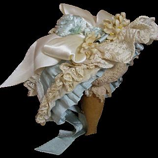 Heavenly Doll Bonnet-Robin's Egg Easter Bonnet!