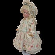 Divine French Doll Dress & Bonnet