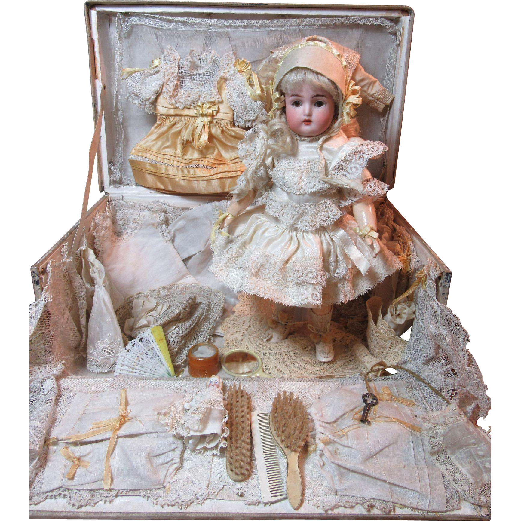 Ruby Lane Doll box