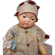 Beautiful Armand Marseille 353 Asian Baby