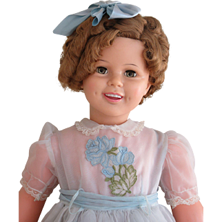 Gorgeous Patti Playpal Shirley Temple Doll-1959