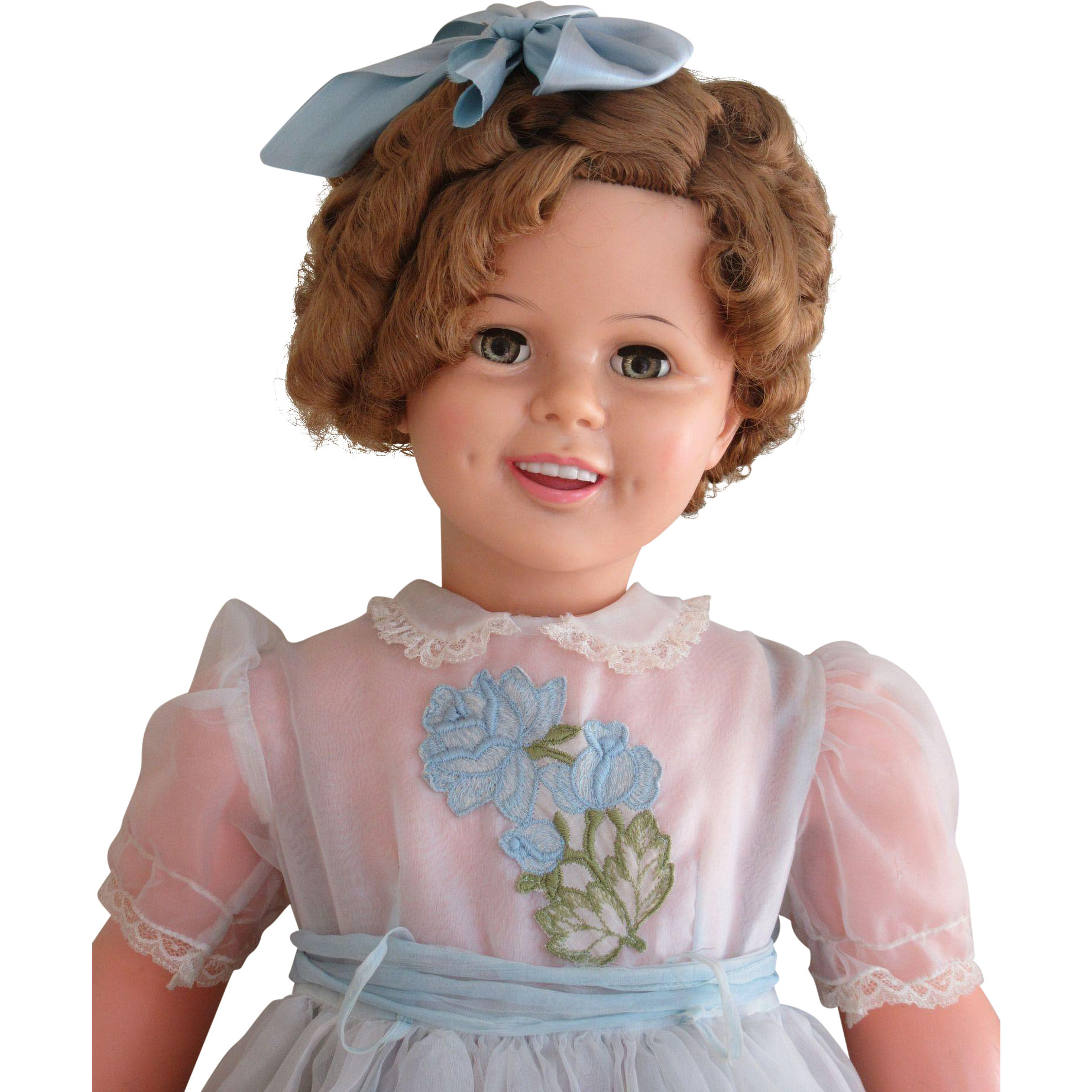 Gorgeous Patti Playpal Shirley Temple Doll-1959