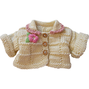 Cute Knit Doll Sweater