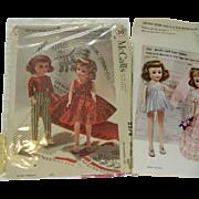 Two Rare Miss Revlon Doll Patterns-