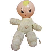 Rare Celluloid Head Rattle Toy For Dy Dee Baby
