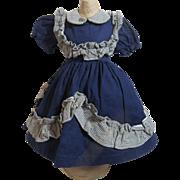 Pretty 1950's Doll School Dress