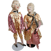 Marvelous Cloth Colonial Dolls