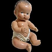 Chubby Cherub-1930's Composition Baby DOll