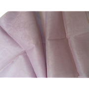 1950's Cotton Organdy Fabric In Lavender