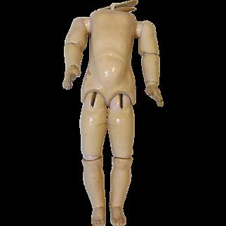 Lovely Antique Handwerk German Doll Body