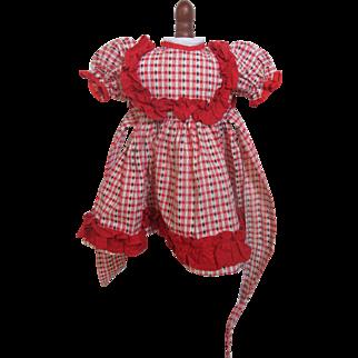 Pretty 1950's Doll Dress