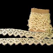 Sturdy Antique Cotton Lace