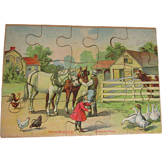 Charming Antique Jigsaw Puzzle