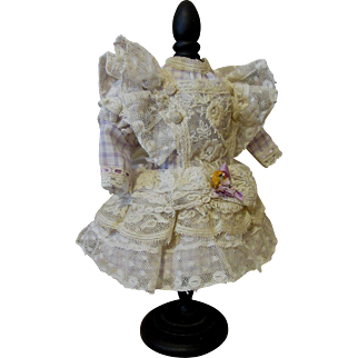 Delightful Doll Dress-Lavender And Old Lace
