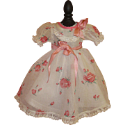 Beautiful 1930's Doll Party Dress
