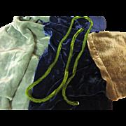 Vintage Silk Velvet Snippets