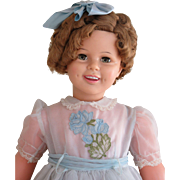 Enchanting Ideal Play Pal Shirley Temple Doll-1961