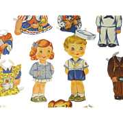 World War ll Paper Dolls #2