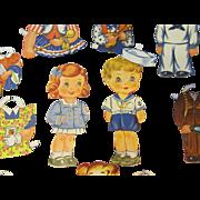 World War ll Paper Dolls #2