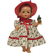 """Festive Christmas Dress For 13.5"""" Tiny Tears & Betsy Wetsy"""