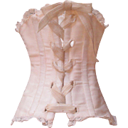Cream French Fashion Doll Corset