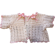 Frilly Antique Baby Doll Sweater