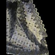 GORGEOUS Length Of Antique Black Lace