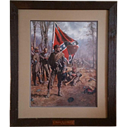 """Confederate Standard Bearer"" by Don Troiani"