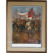 """""""Forward the Colors"""" a Print signed by Don Troiani"""