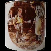 """Lancaster's LTD """"Oliver Twist"""" Mustard Pot"""
