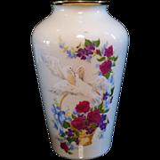 Lenox Birds of Love Vase