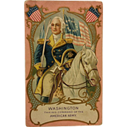 Postcard of Gen. George Washington